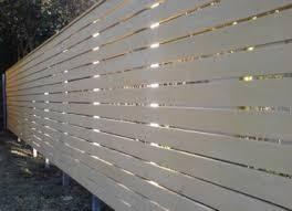 white horizontal wood fence. Horizontal Timber Slat Fences And Screens White Wood Fence H