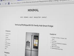 Listing Template Minimal Advanced Clean Responsive Multi Purpose Ebay Listing