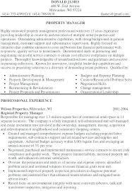 Management Resume Modern Property Management Resume Sample Modern Ideas Property Manager
