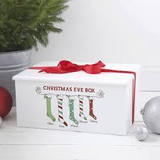 luxury personalised eve box stocking design