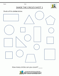 Shapes Worksheets Foren Cutting Preschoolers Matching Tracing For ...