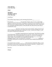 cover letter no recipient samples of character reference letter for a friend