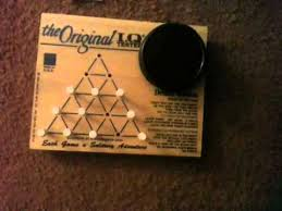 Wooden Triangle Peg Game how to get a perfect score on the peg game YouTube 39
