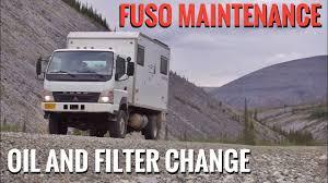 Eng Sys Light Mitsubishi Diesel Engine Oil And Filter Change Mitsubishi Fuso Fg140 Maintenance