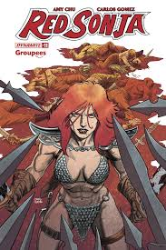 Red Sonja #11 (variant Groupees cover - Craig Cermak) [2018] - Westfield  Comics