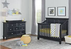 gray nursery furniture. Belmar Black 4 Pc Nursery Gray Furniture A