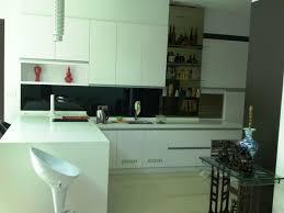 kitchen captivating apartment kitchen with black backsplash also