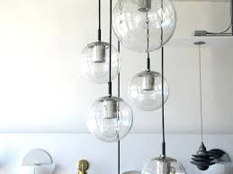 glass globe chandeliers design marvelous chandelier good for your small home remodel ideas with of vintage decorating replacement globes pendant modern
