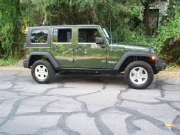 2007 jeep forest green rubicon 4 door wrangler photo picture image on use