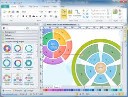visio like software   more templates and examples  free downloadvisio like software   circular diagram