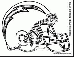 nfl players coloring pages 3 c terrific san go chargers helmet coloring pages