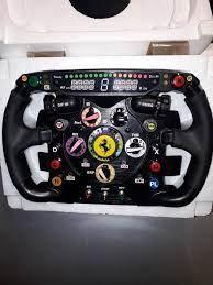 The controller is a lifesize replica of the actual steering wheel of a ferrari 150° italia. Ferrari Formula One Fernando Alonso 2011 Ferrari F1 Catawiki