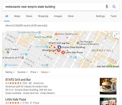 Google Maps Blue Pins Are For Locations You Searched Near