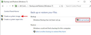 re windows 10 system image to new