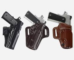our holsters ammo carriers and accessories are extensively field tested by galco employees with many years of experience in the real world whether that s