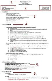 a high school resume venja co Resume And Cover Letter