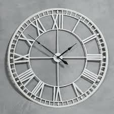 very large wall clocks uk roman style skeleton wall clock large wall clocks uk the range