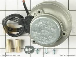 whirlpool 833697 condenser fan motor kit partselect 395284 1 s whirlpool 833697 condenser fan motor kit