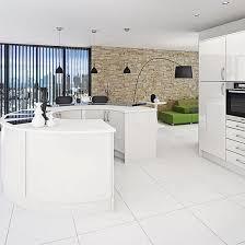 white kitchen floor tiles. White Kitchens For Every Style And Bud On Kitchen Tiles Splashback Wall Floor O