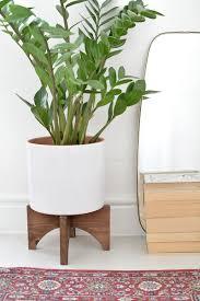 Mid Century Plant Stand Diy Mid Century Plant Stand Burkatron