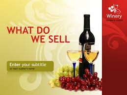 Wine Powerpoint Template Winery Powerpoint Template 31989
