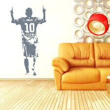 space invaders wall decals poster wall decal sticker football soccer player  poster wall decal sticker football
