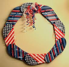 patriotic wreaths for front doorHow to Make a Flip Flop Wreath 14 DIY Tutorials  Guide Patterns