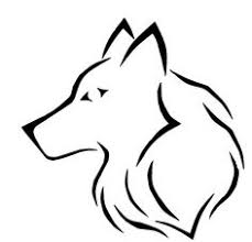 simple wolf drawing. Perfect Drawing People Also Love Inside Simple Wolf Drawing I