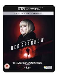 Blu-ray2 - Red Sparrow (UHD 4K) (2 BLU-RAY): Amazon.de: Jennifer Lawrence,  Joel Edgerton, Matthias Schoenaerts, Charlotte Rampling, Mary-Louise  Parker, CiarÄAn Hinds, Joely Richardson, Bill Camp, Jeremy Irons, Thekla  Reuten, Francis Lawrence: DVD