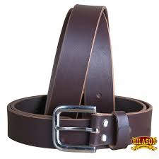 hilason handmade heavyduty western leather mens concealed carry holster belt zoom