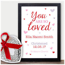 details about personalised christening baptism naming day gift for baby daughter niece