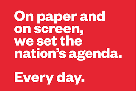 Agenda Setting Newsworks Launches New Campaign For Agenda Setting Newspapers