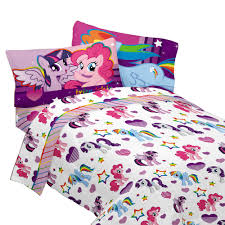 my little pony ponified twin sheet set by franco manufacturing co inc hasbrotoy