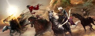 Image result for zECHARIAH THE 4 CHARIOTS