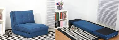 Furniture Cheap Futons In Blue With Wooden Frame For Home