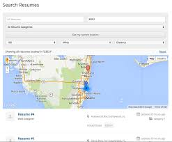 Resume Manager Geolocation Geo My Wp