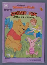 Activity book:Walt <b>Disney's Winnie the Pooh</b> Sticker Fun | A Special ...