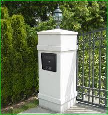 Column Mount Mailbox H59