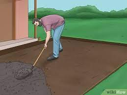 how to level the ground for pavers 15