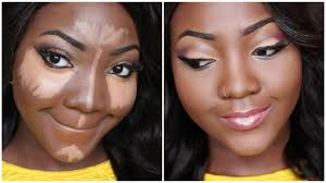 foundation contour and highlight makeup tutorial