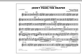 don t fear the reaper sheet music sheet music digital files to print licensed paul murtha digital