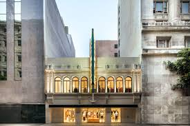 h m s upscale cos store opens inside historic theatre in downtown la