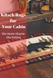 cabins are supposed to be full of charm and a place for fun consequently cabins can get away with more kitsch accouterments than the average home