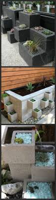 urban cinder block planter