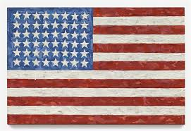 jasper johns flag 1983 courtesy of sotheby s new york