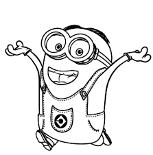 By best coloring pagesmarch 30th 2017. Minions Coloring Pages Free Printable Coloring Pages For Kids