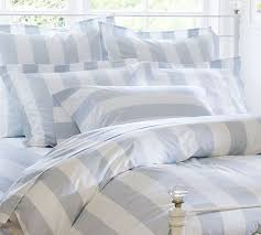 linen duvet cover striped bedding blue and white intended for idea with light design 0
