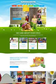 Kids School Website Template Kindergarten Kids School Website Template Themes