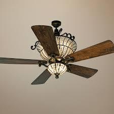 ceiling fan crystal chandelier photo 1