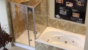 diverter door glass scenic curtain bathtub shower combo oil frameless ideas ring stuck slidin doors bronze